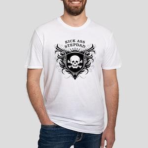 Kick Ass Stepdad Fitted T-Shirt