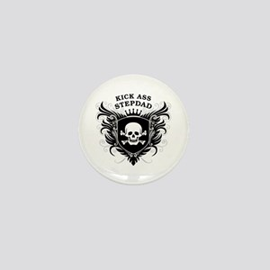Kick Ass Stepdad Mini Button