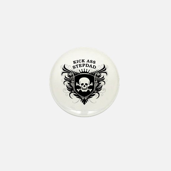 Kick Ass Stepdad Mini Button