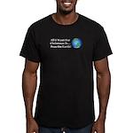 Christmas Peas On Eart Men's Fitted T-Shirt (dark)