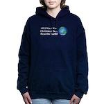 Christmas Peas On Earth Women's Hooded Sweatshirt