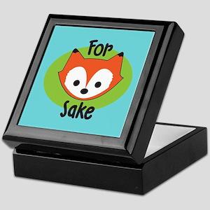 For Fox Sake Keepsake Box
