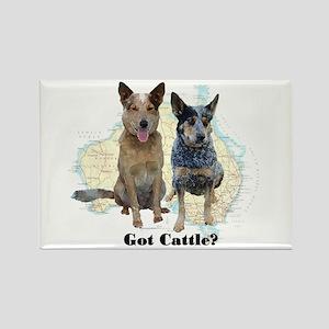 Got Cattle? Rectangle Magnet
