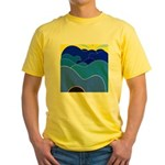Blue Ridge Mtns. Yellow T-Shirt
