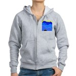 Blue Ridge Mtns. Women's Zip Hoodie