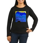 Blue Ridge Mtns. Women's Long Sleeve Dark T-Shirt