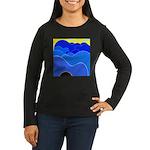 Blue Ridge Mtns. Women's Long Sleeve Dark T-Shirt