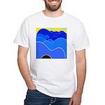 Blue Ridge Mtns. White T-Shirt
