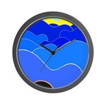 Blue Ridge Mtns. Wall Clock