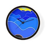 Blue Ridge Mtns. Wall Clock