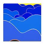 Blue Ridge Mtns. Tile Coaster