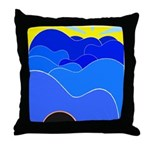 Blue Ridge Mtns. Throw Pillow