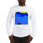 Blue Ridge Mtns. Long Sleeve T-Shirt