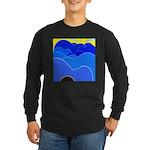 Blue Ridge Mtns. Long Sleeve Dark T-Shirt
