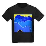 Blue Ridge Mtns. Kids Dark T-Shirt