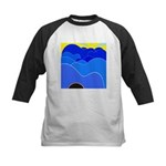 Blue Ridge Mtns. Kids Baseball Jersey