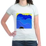Blue Ridge Mtns. Jr. Ringer T-Shirt
