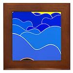 Blue Ridge Mtns. Framed Tile