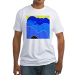 Blue Ridge Mtns. Fitted T-Shirt