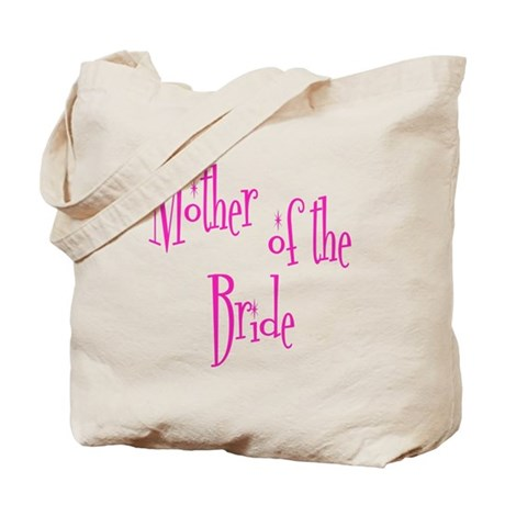 Mother of the Bride Pink Twinkle Tote Bag