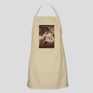 Spinoza: Desire and Man BBQ Apron