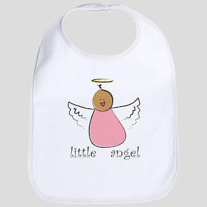 Little Angel Girl Bib