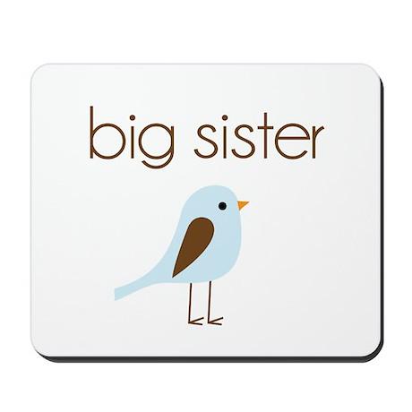 mod big sister t-shirt birdie Mousepad