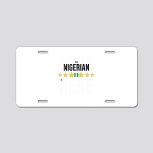 Have No Fear The Nigerian Aluminum License Plate