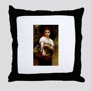 Bouguereau Throw Pillow