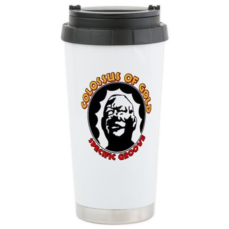 Colossus of Gold Stainless Steel Travel Mug