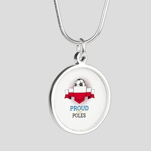 Football Poles Poland Soccer Team Sports Necklaces