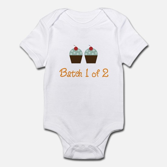 Cupcake Batch Infant Bodysuit