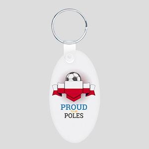 Football Poles Poland Soccer Team Sports Keychains