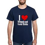 Dark T-Shirt I heart Women's & Gender Studies