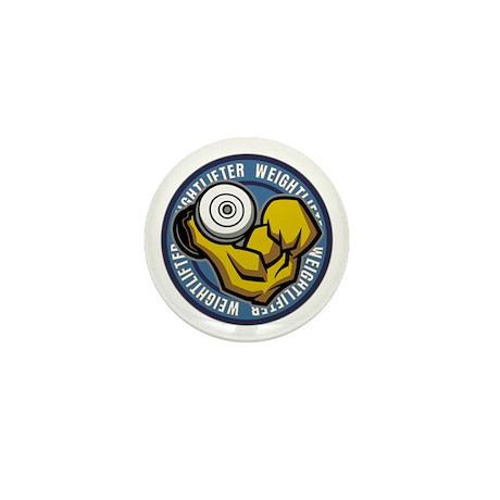 Weightlifter Flex Logo Mini Button (10 pack)