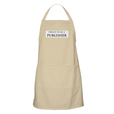 Proud Publisher BBQ Apron