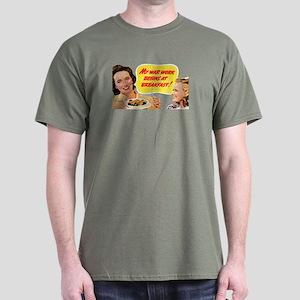 WAR BREAKFAST Dark T-Shirt