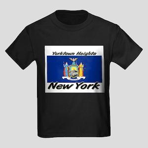 Yorktown Heights New York Kids Dark T-Shirt