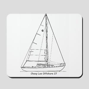 Offshore 27 Mousepad