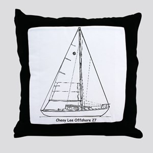 Offshore 27 Throw Pillow