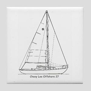 Offshore 27 Tile Coaster