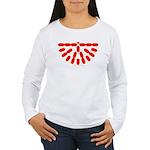 Faux Red Gem Women's Long Sleeve T-Shirt