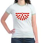 Faux Red Gem Jr. Ringer T-Shirt