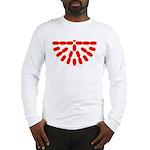 Faux Red Gem Long Sleeve T-Shirt