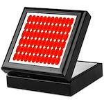 Faux Red Gem Keepsake Box