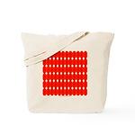 Faux Red Gem Tote Bag