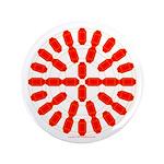 Faux Red Gem 3.5