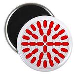Faux Red Gem Magnet
