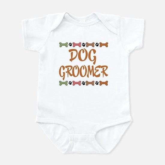 Cute Dog Groomer Infant Bodysuit