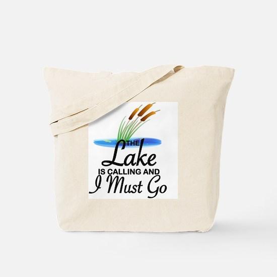 Unique Lake Tote Bag
